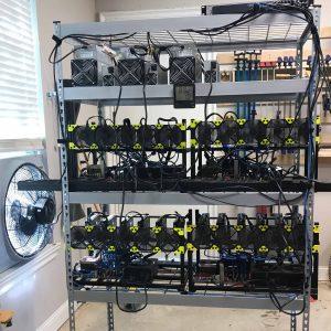 DFW Crypto Mining: Garage Mining