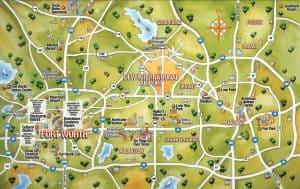 DFW Crypto Mining: Map