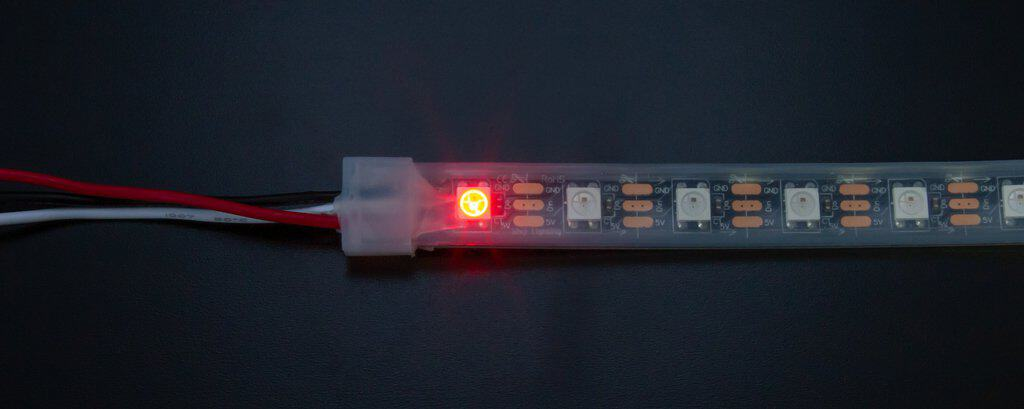 Controlling WS2812b LEDs with a Raspberry Pi - The Geek Pub