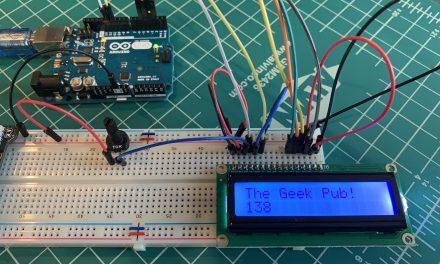 Arduino LCD Display Wiring