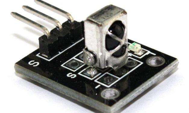 Sensor Wiki: KY-022 Infrared Sensor