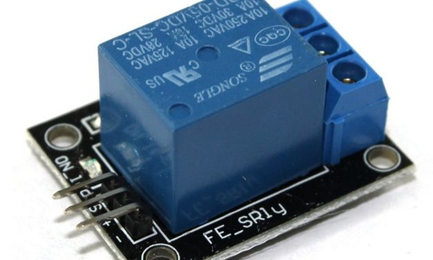 Sensor Wiki: KY-019 Relay Module