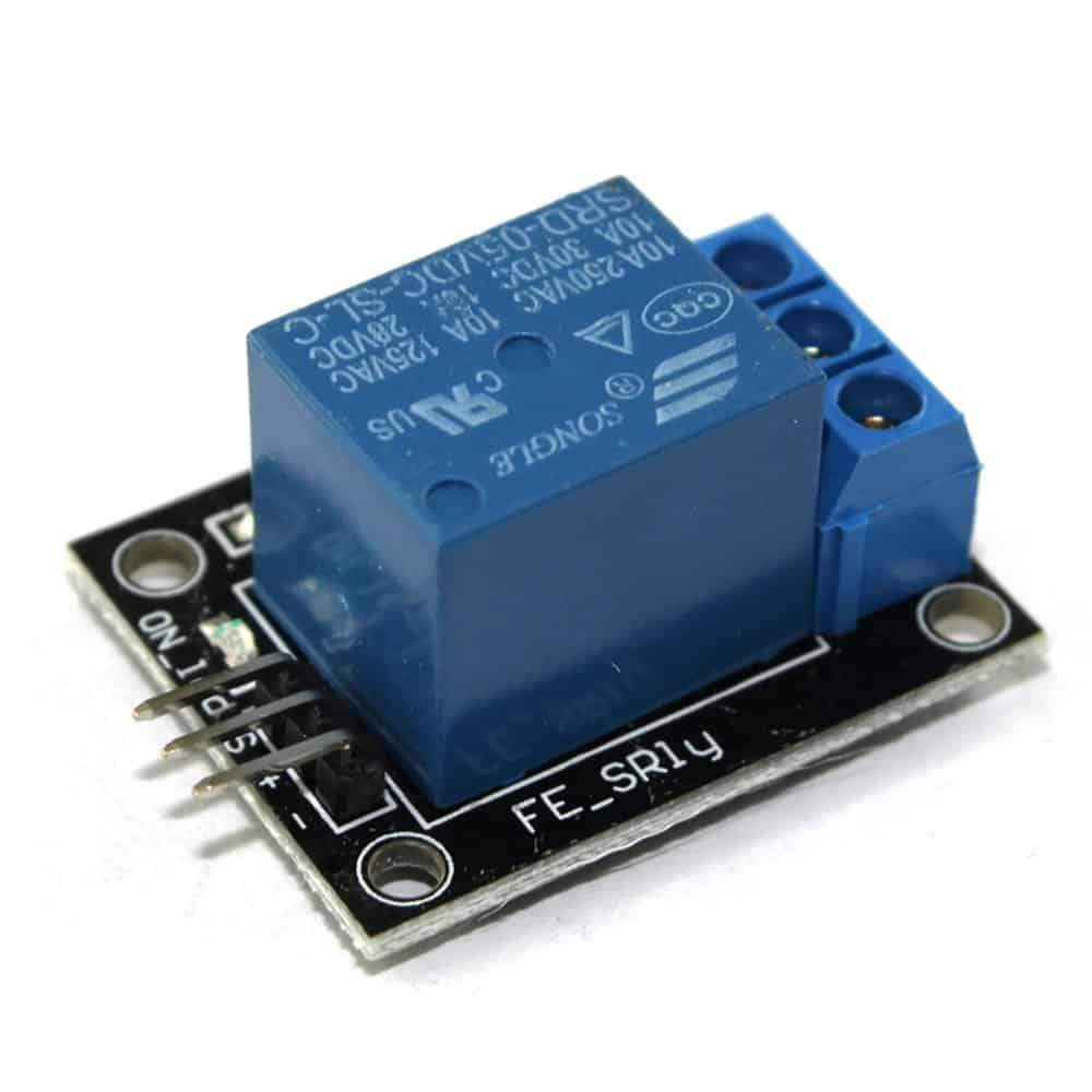 Sensor Wiki: KY-019 Relay Module - The Geek Pub