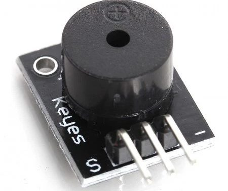 Sensor Wiki: KY-006 Passive Piezo-Buzzer Module