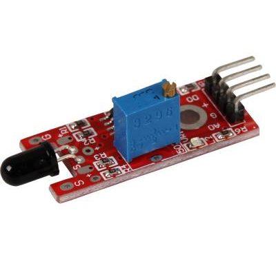 Sensor Wiki: KY-026 Flame IR Sensor