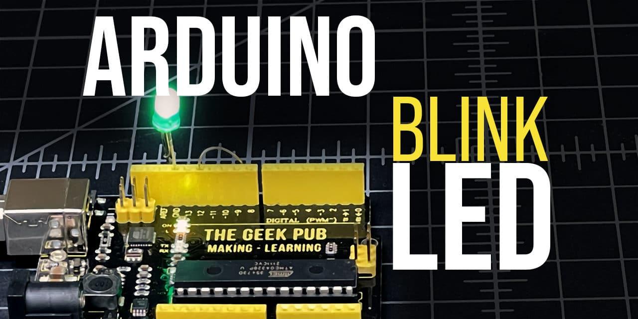 Arduino: Blinking an LED