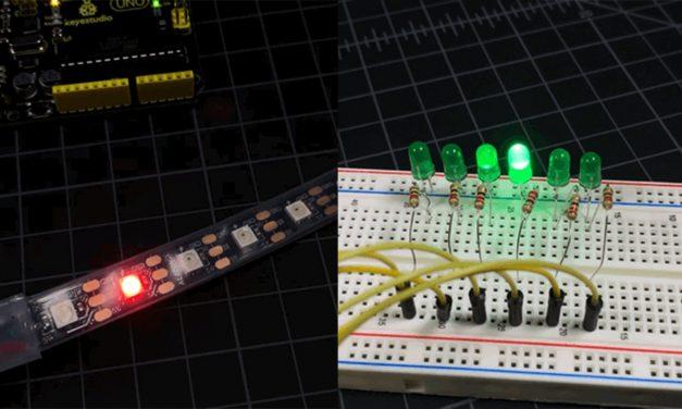 Arduino Knight Rider LEDs (Cylon Eye)