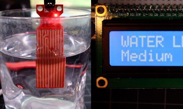 Arduino Water Level Sensor Tutorial