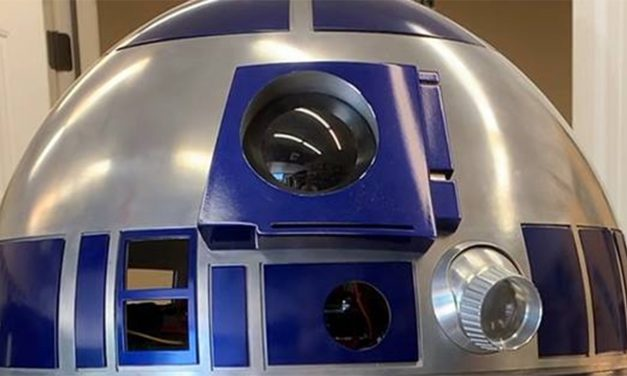 Full Size R2-D2 Remote Control (Raspberry Pi)