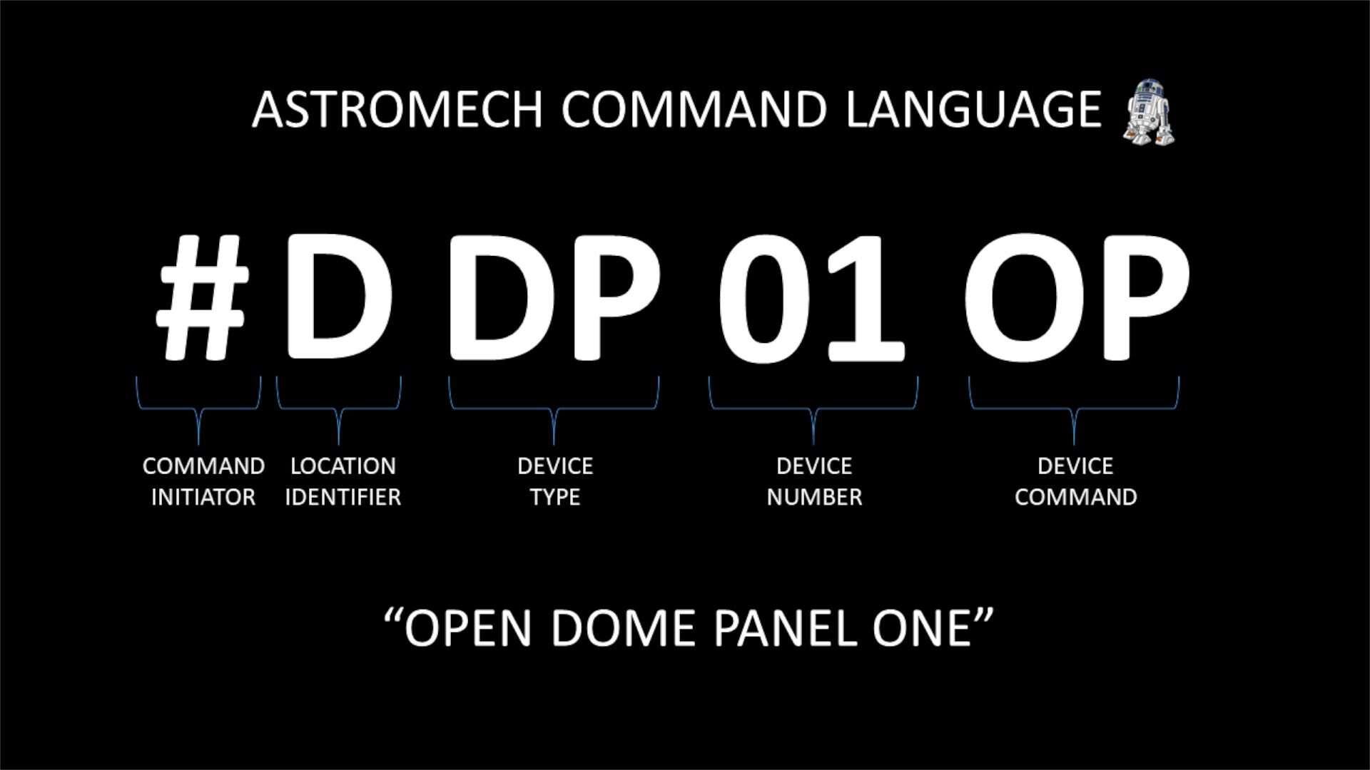 astromech control language