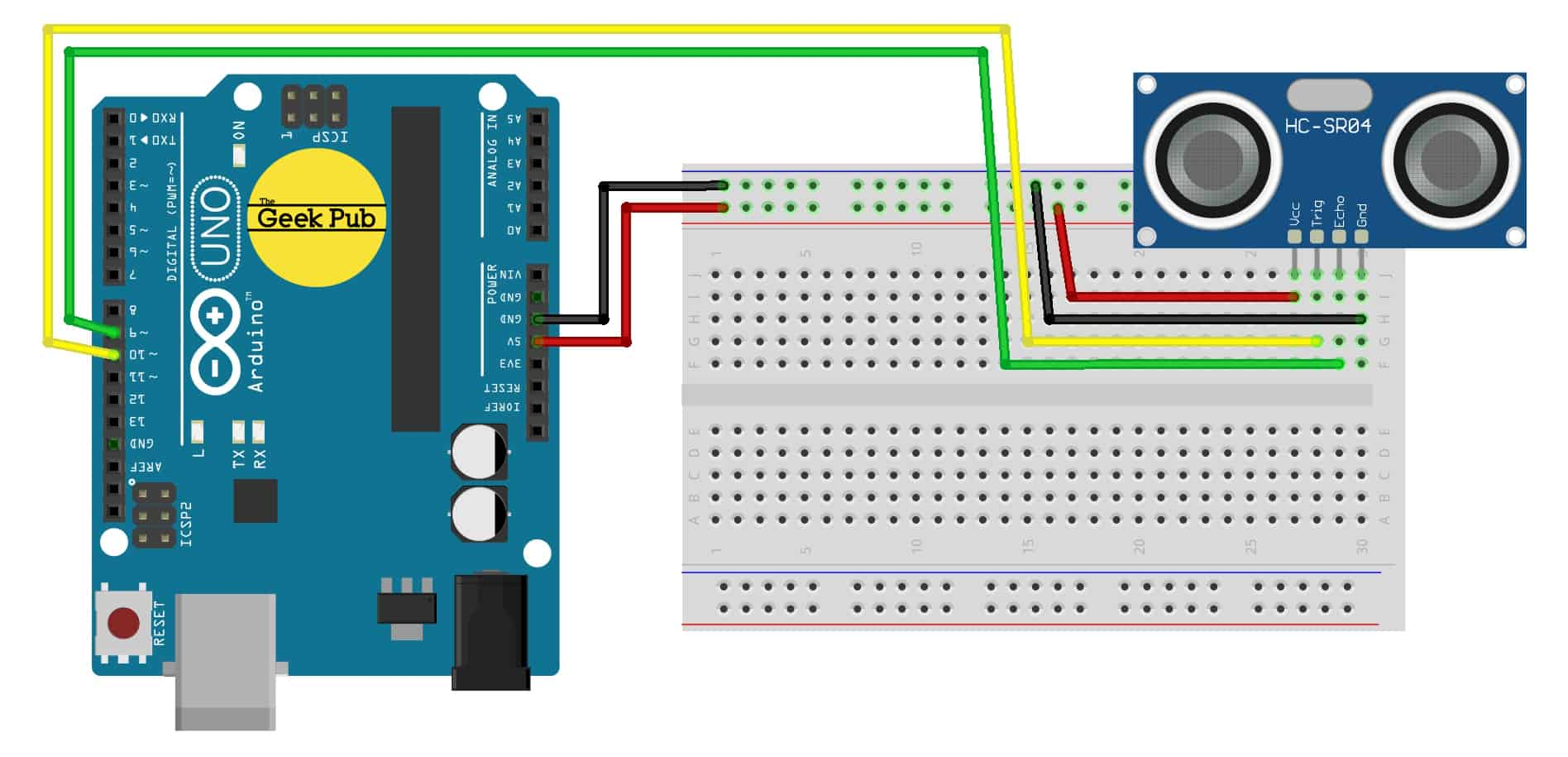 Sensor Wiki  Ky-050    Hc-sr04 Ultrasonic Sensor