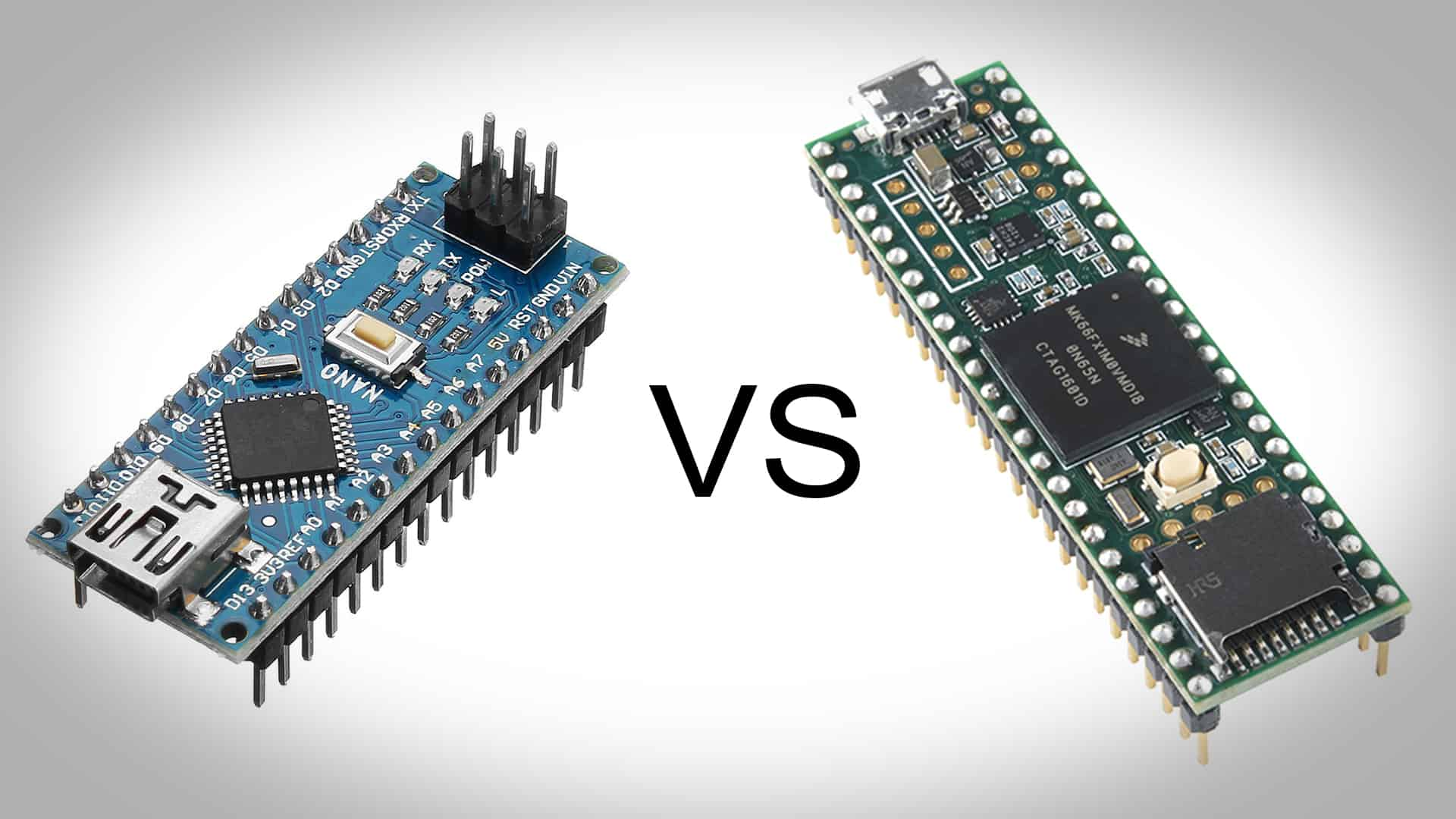 Teensy vs Arduino