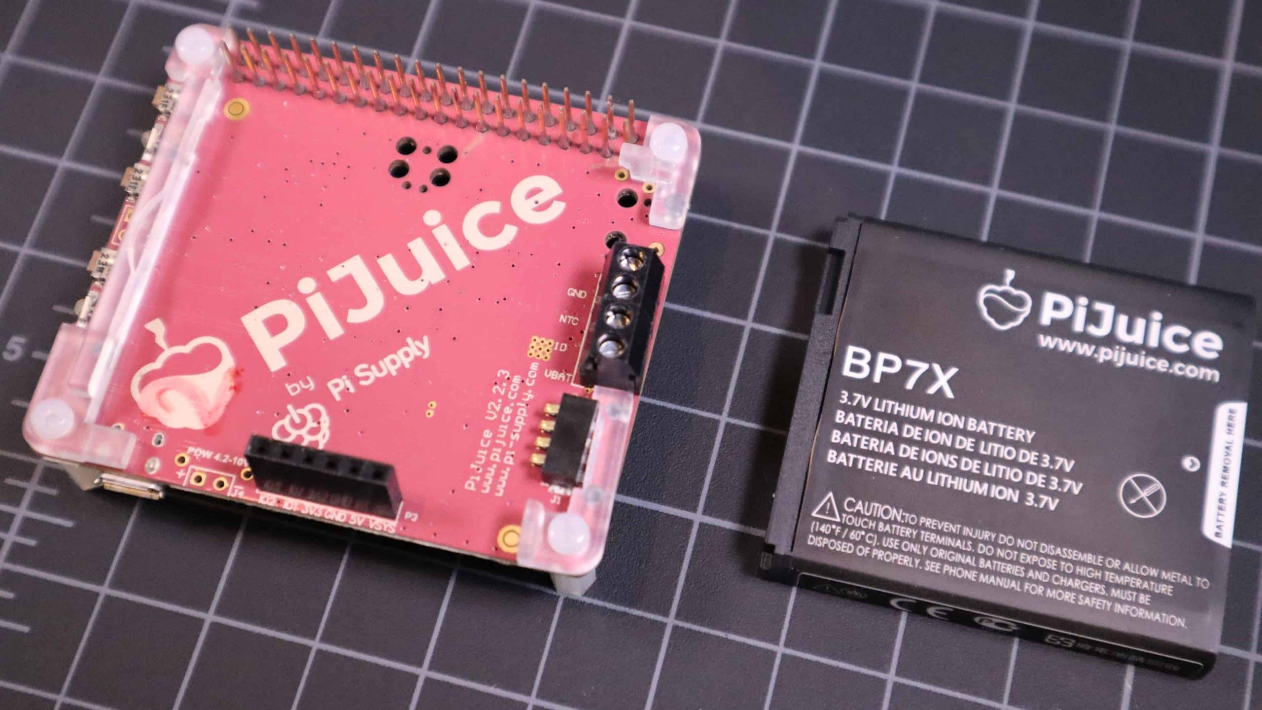 PiJuice Raspberry Pi Battery Pack