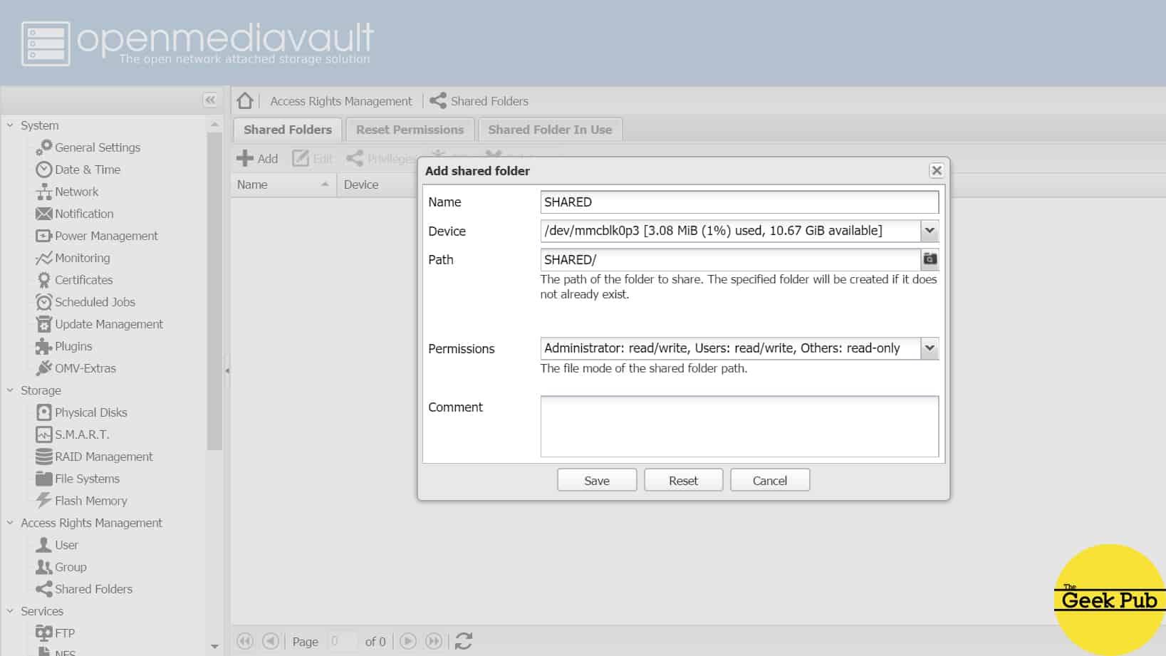 Create a Raspberry Pi NAS with Samba or OMV - The Geek Pub