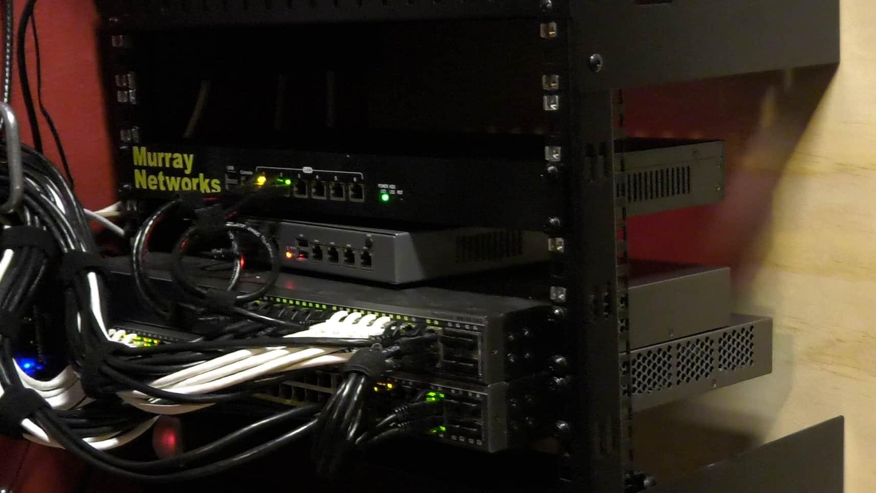 my home network rack