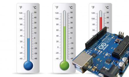 Arduino Celsius to Fahrenheit Conversion