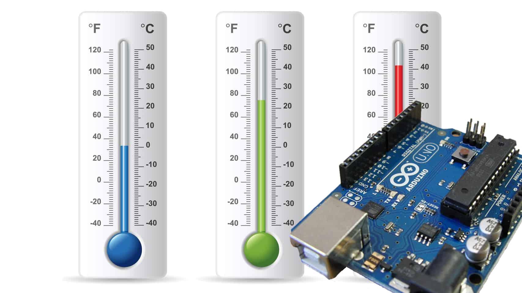 Arduino Celsius to Fahrenheit