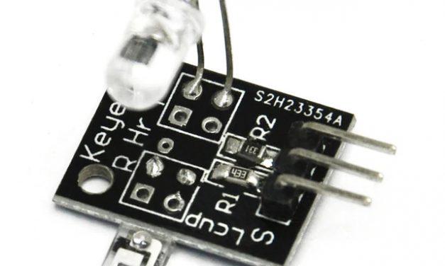 Sensor Wiki: KY-039 Heartbeat Sensor