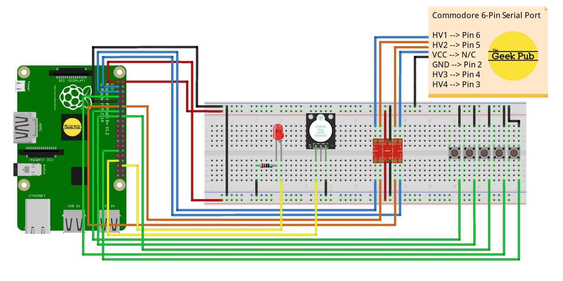 Pi1541 wiring diagram fritzing