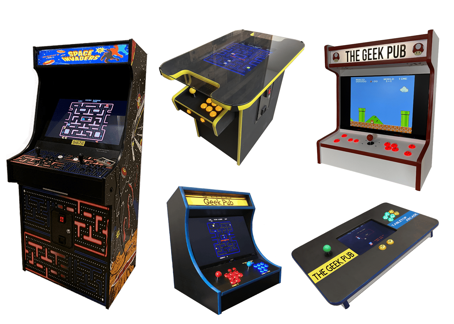 Arcade Combo Pack