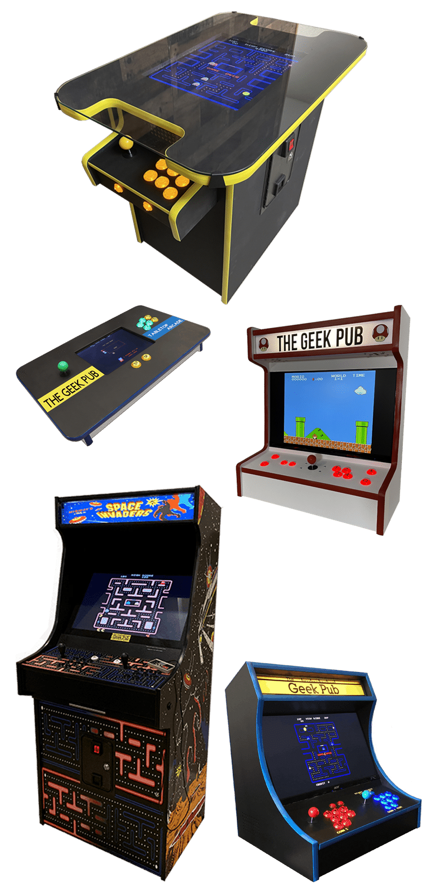 Arcade Plans Combo Pack