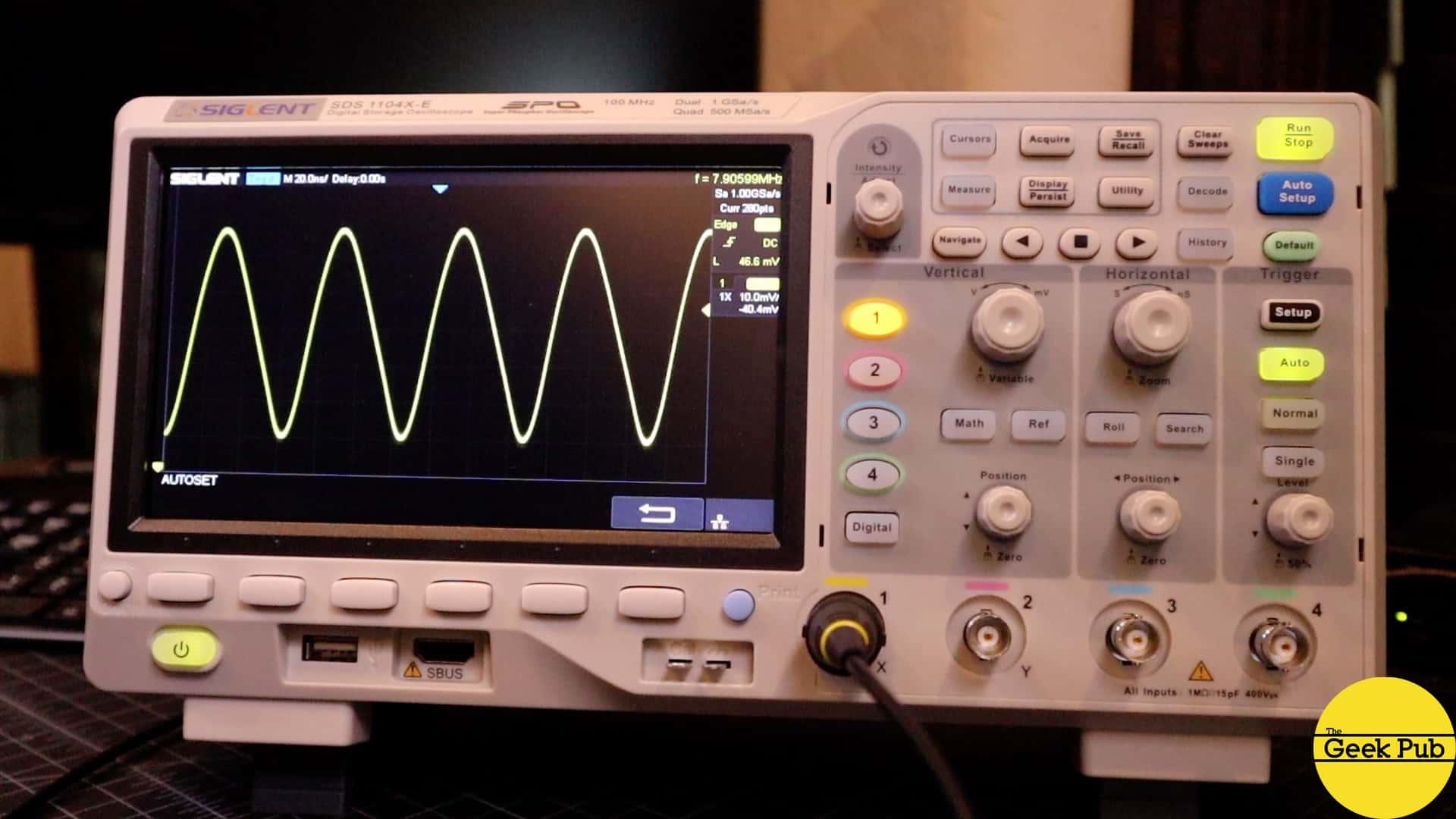 Arduino Oscillator on the Oscilloscope