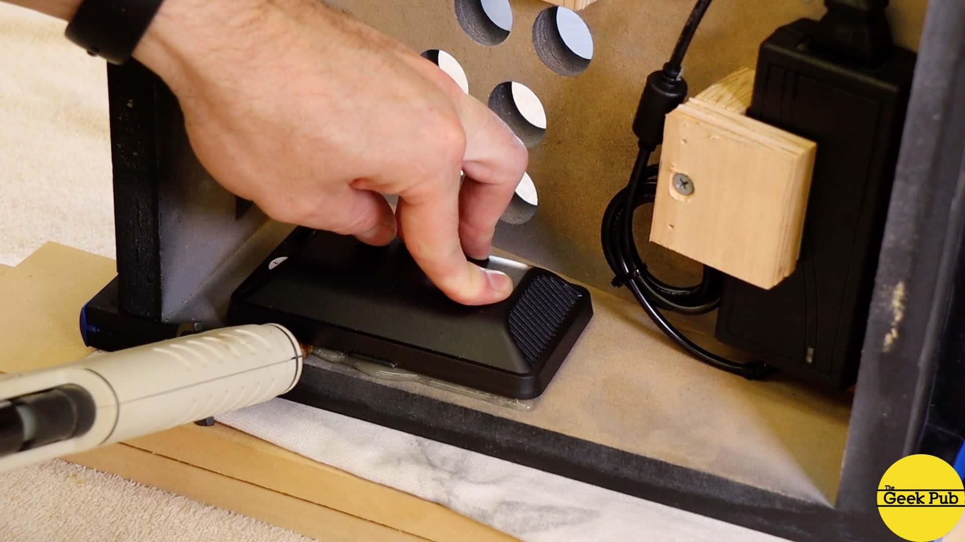 installing the speakers