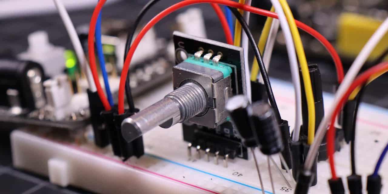 How Rotary Encoders Work – Electronics Basics