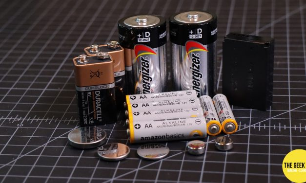 Types of Batteries – Electronics Basics