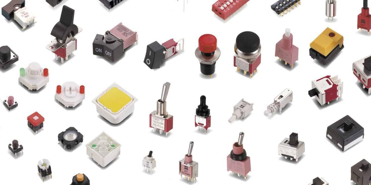 Types of Switches – Electronics Basics