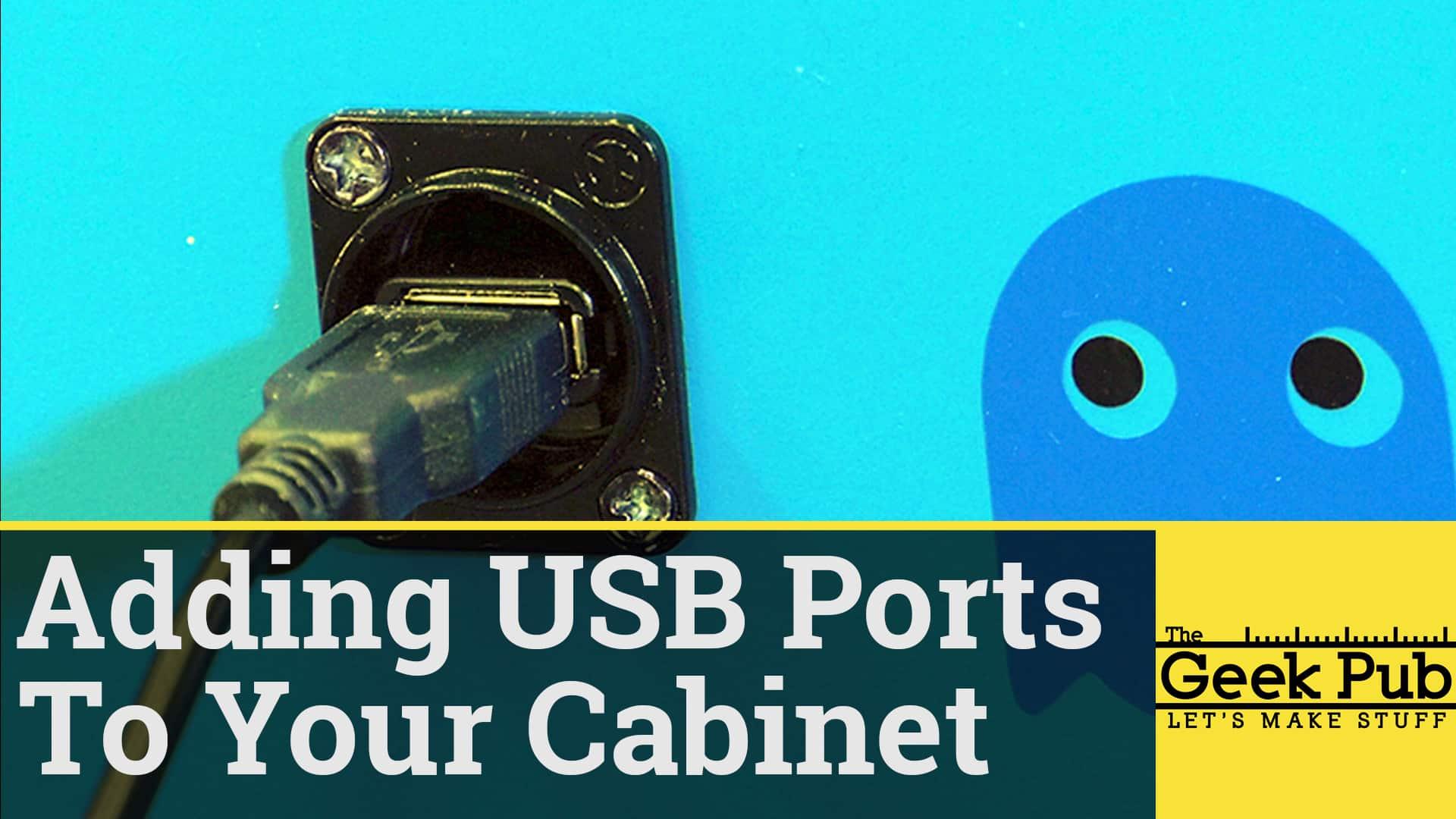 Installing USB Ports