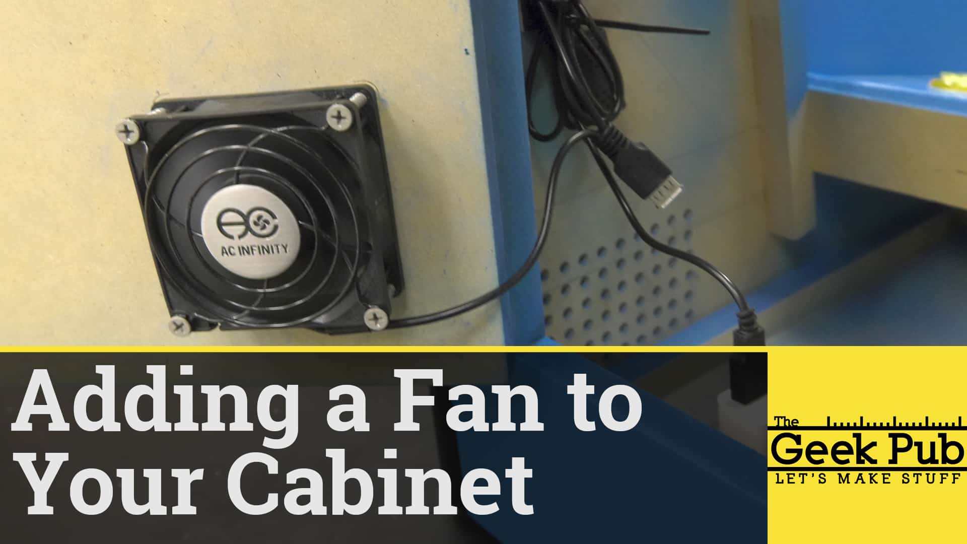 Adding a Fan to your Arcade