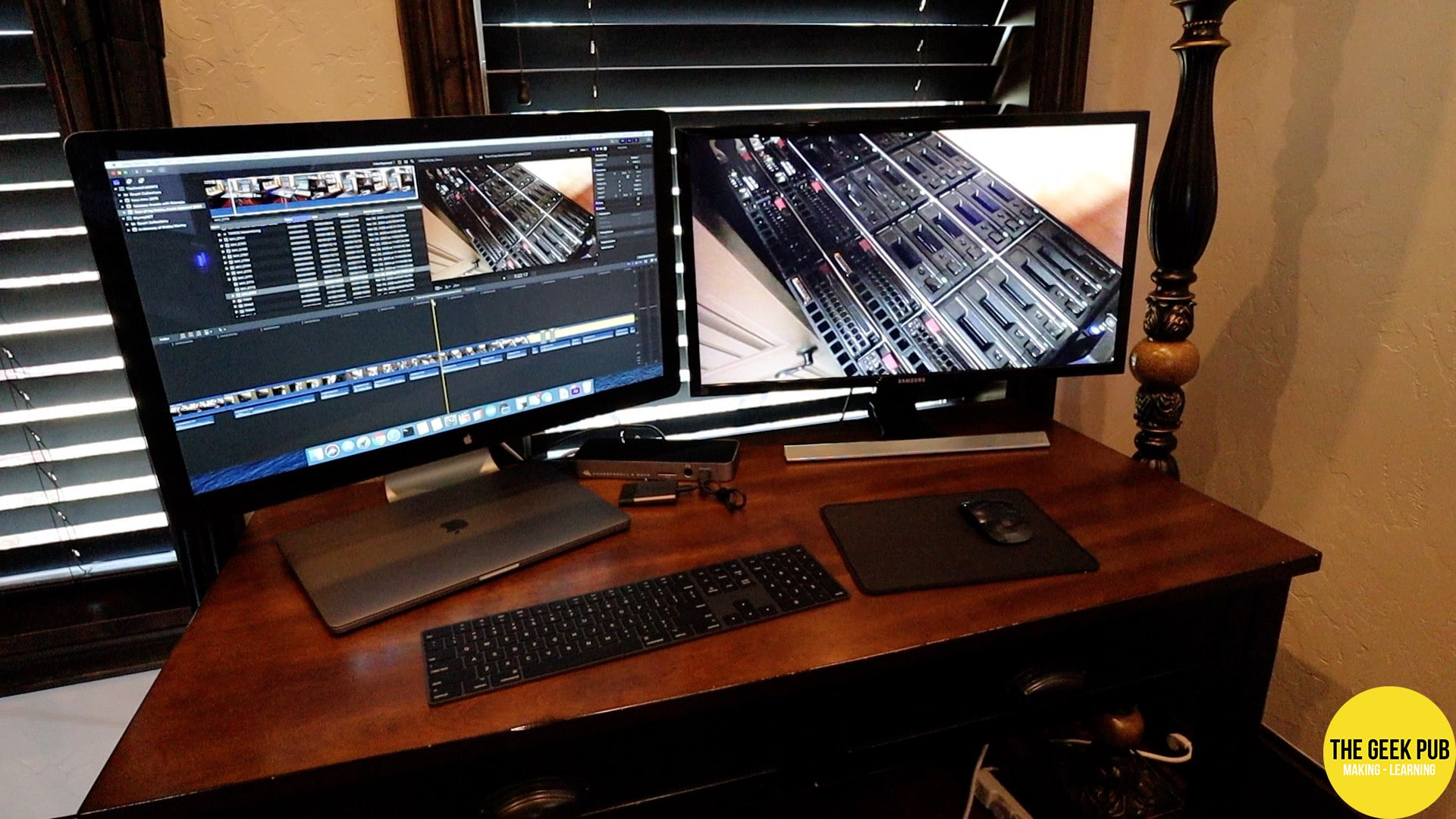 """My 16"""" macbook pro for video editing"""