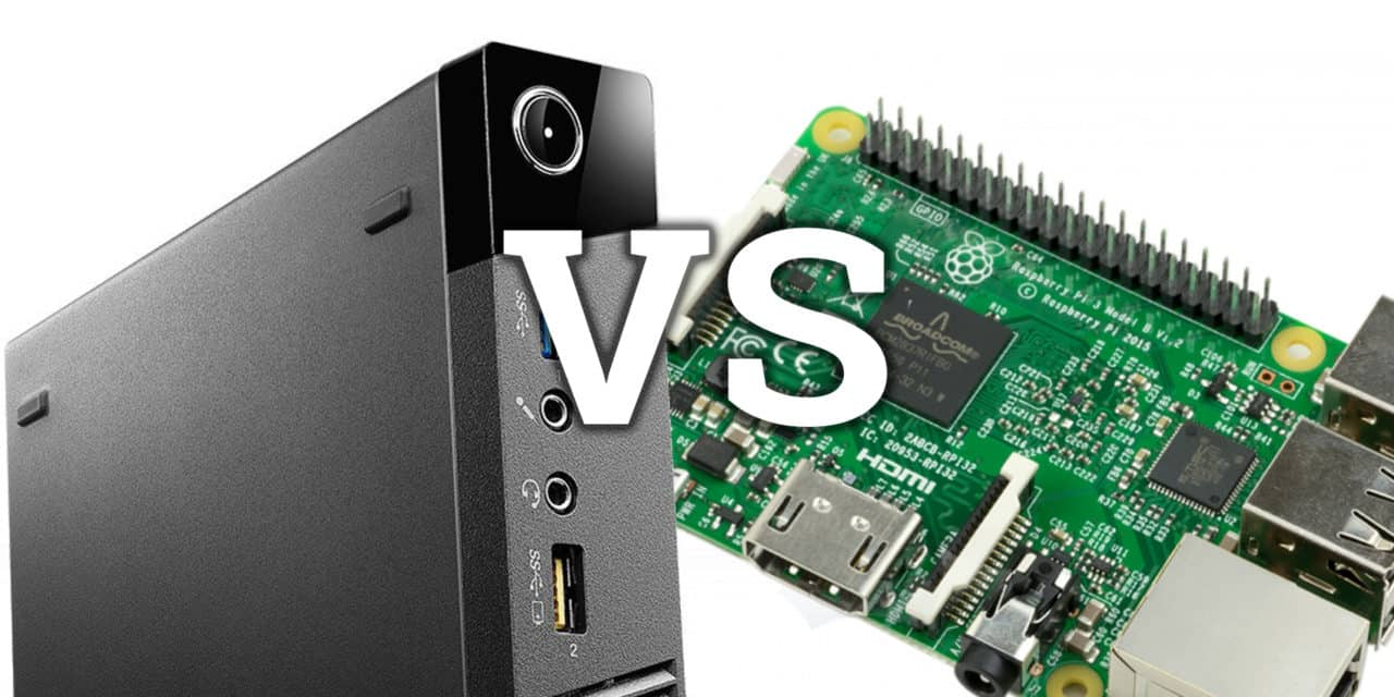PC vs Raspberry Pi for Arcades