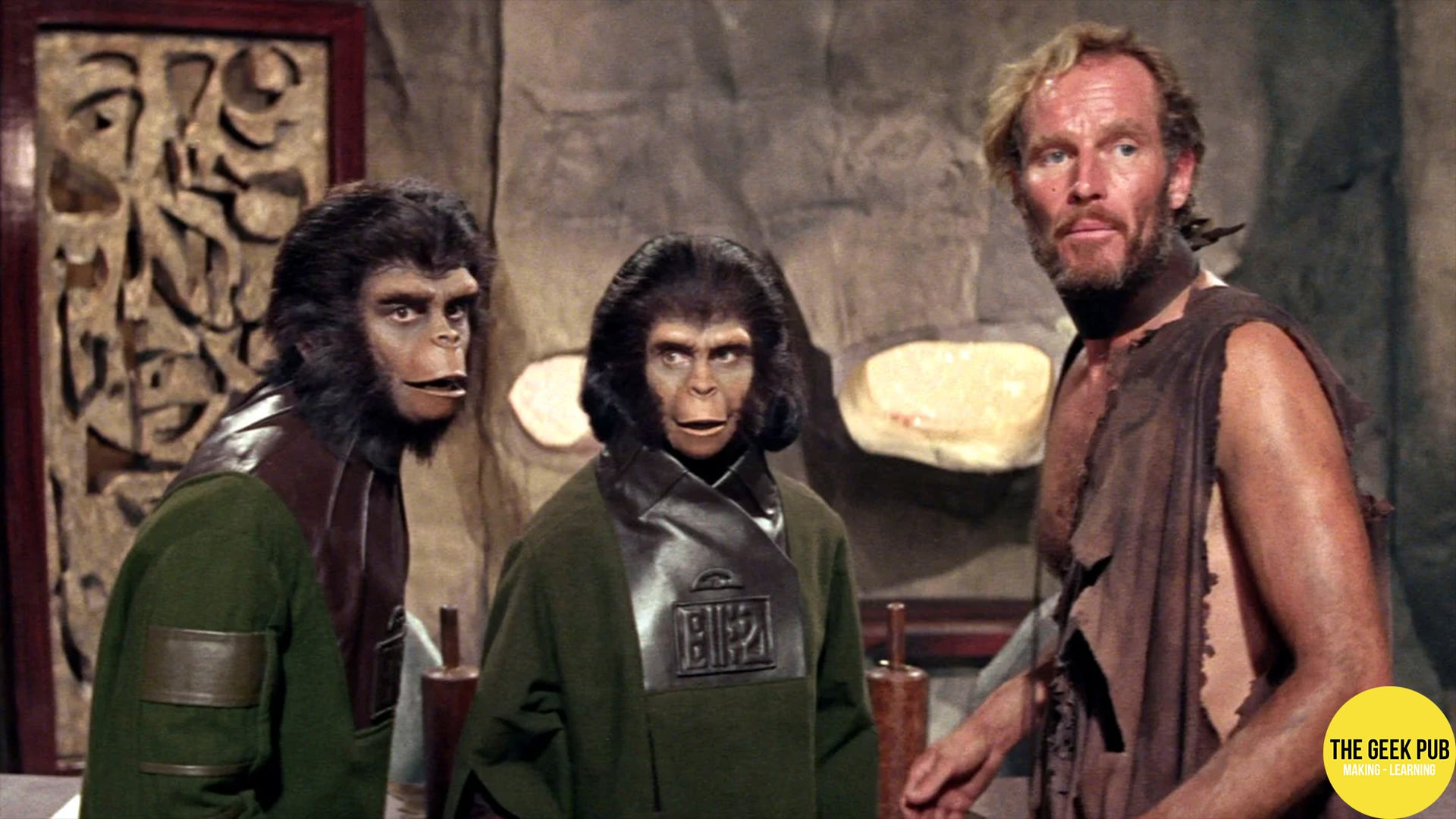 8) The Planet of the Apes (1968)
