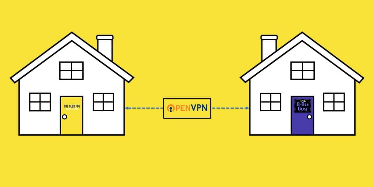 VPN between Friends and Family