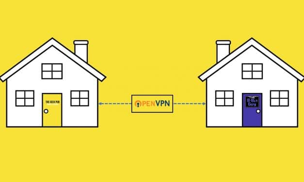 VPN between Friends and Family (VPN Between Houses)