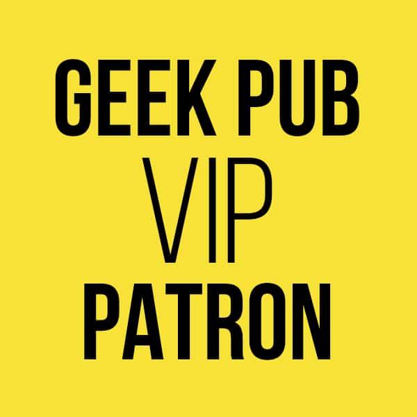 Geek Pub Membership