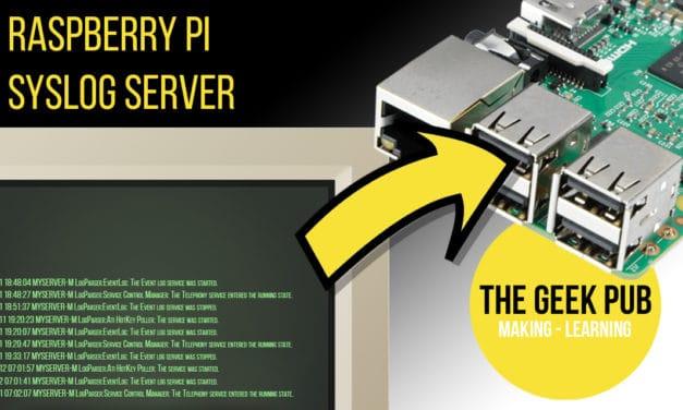 Raspberry Pi Syslog Server Setup