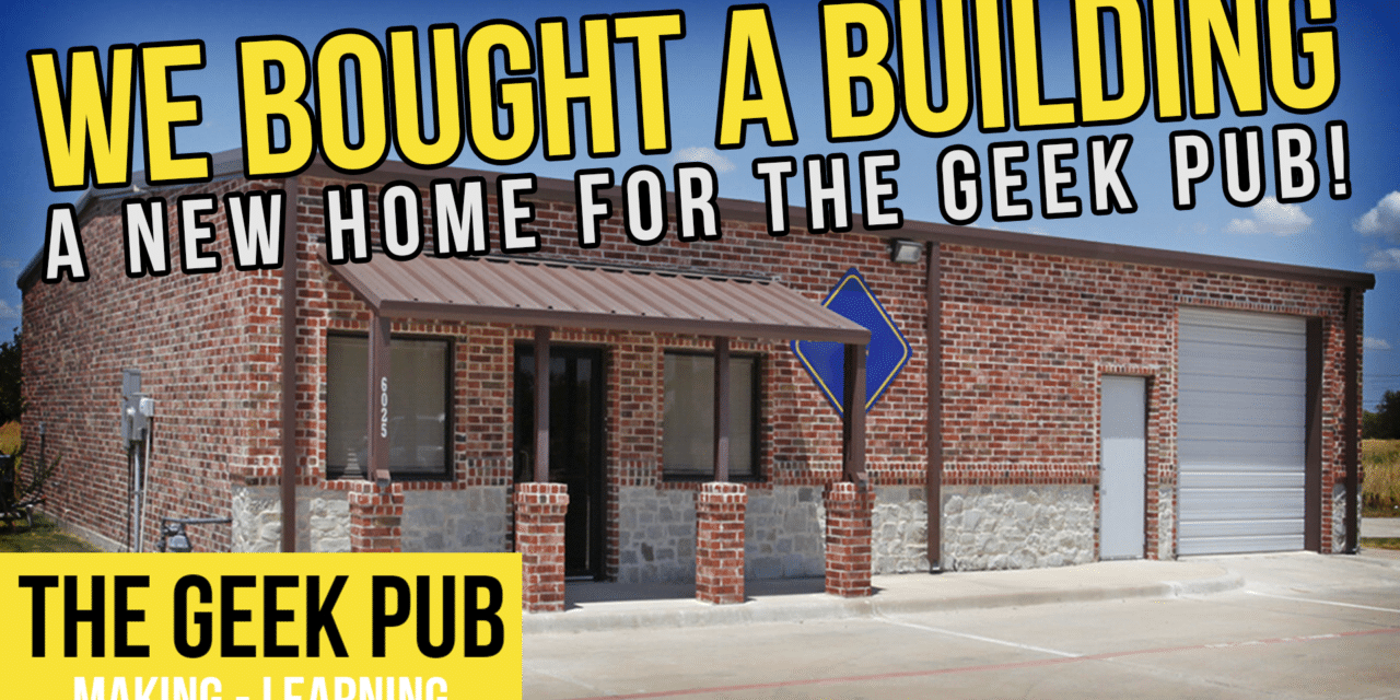 We Bought a Building! New Studio and Shop!