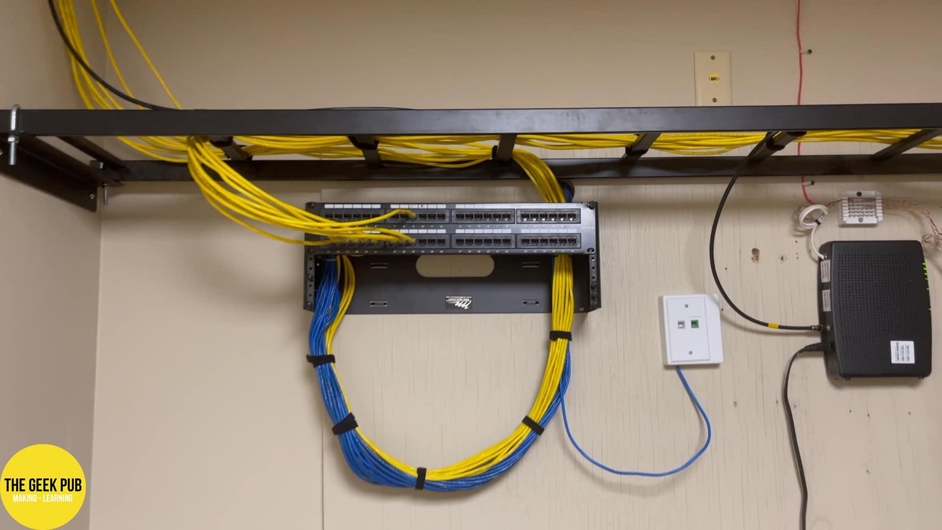 Ladder Rack in Server Room
