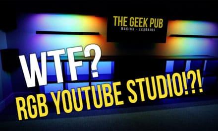 Building a YouTube Studio Set