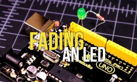 Arduino Fading an LED