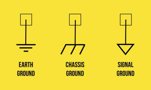 Types of Grounds: Earth Ground, Chassis Ground, Signal Ground