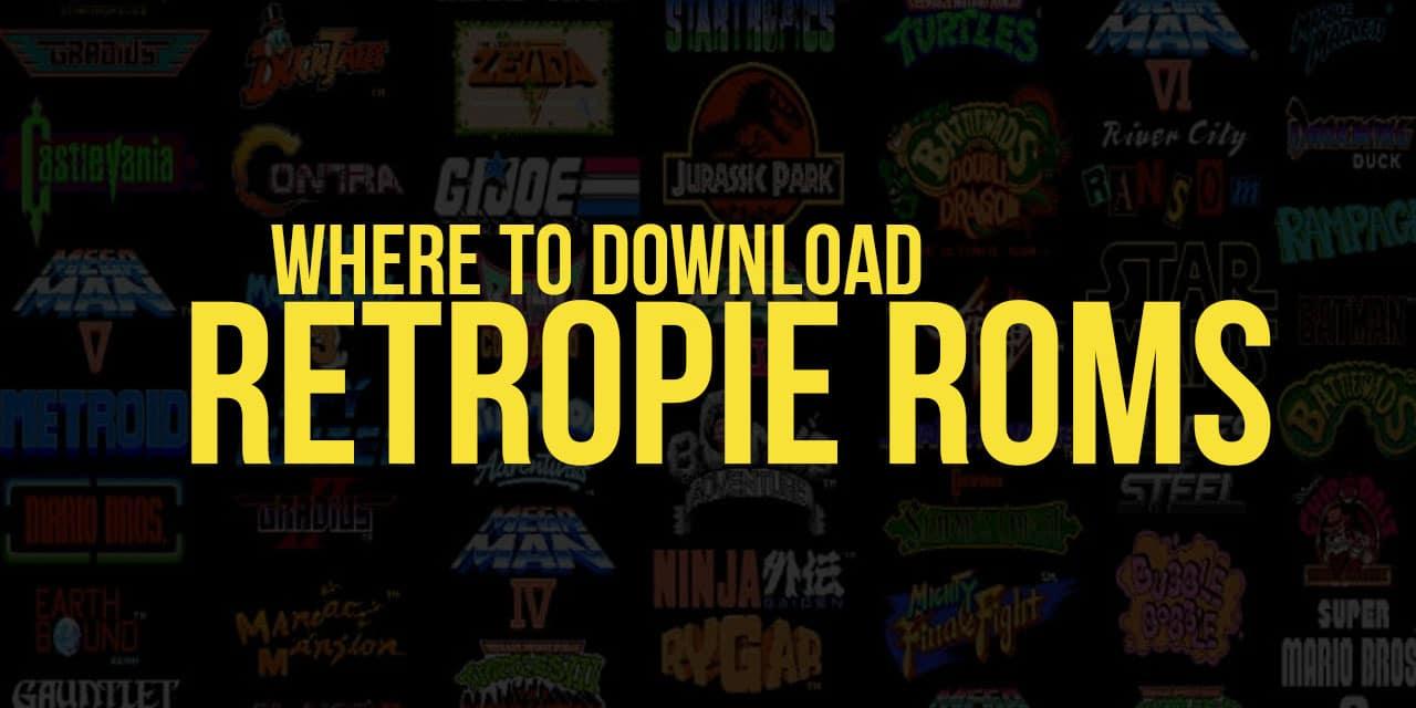 Where to download RetroPie ROMs