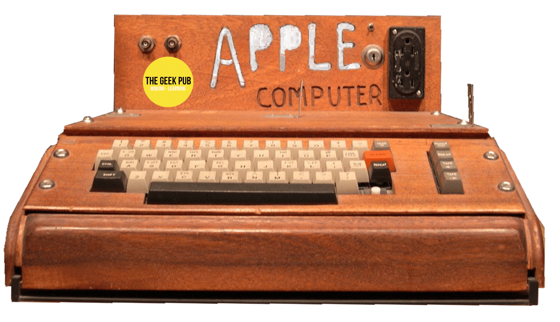 Apple 1 case made by hobbyist