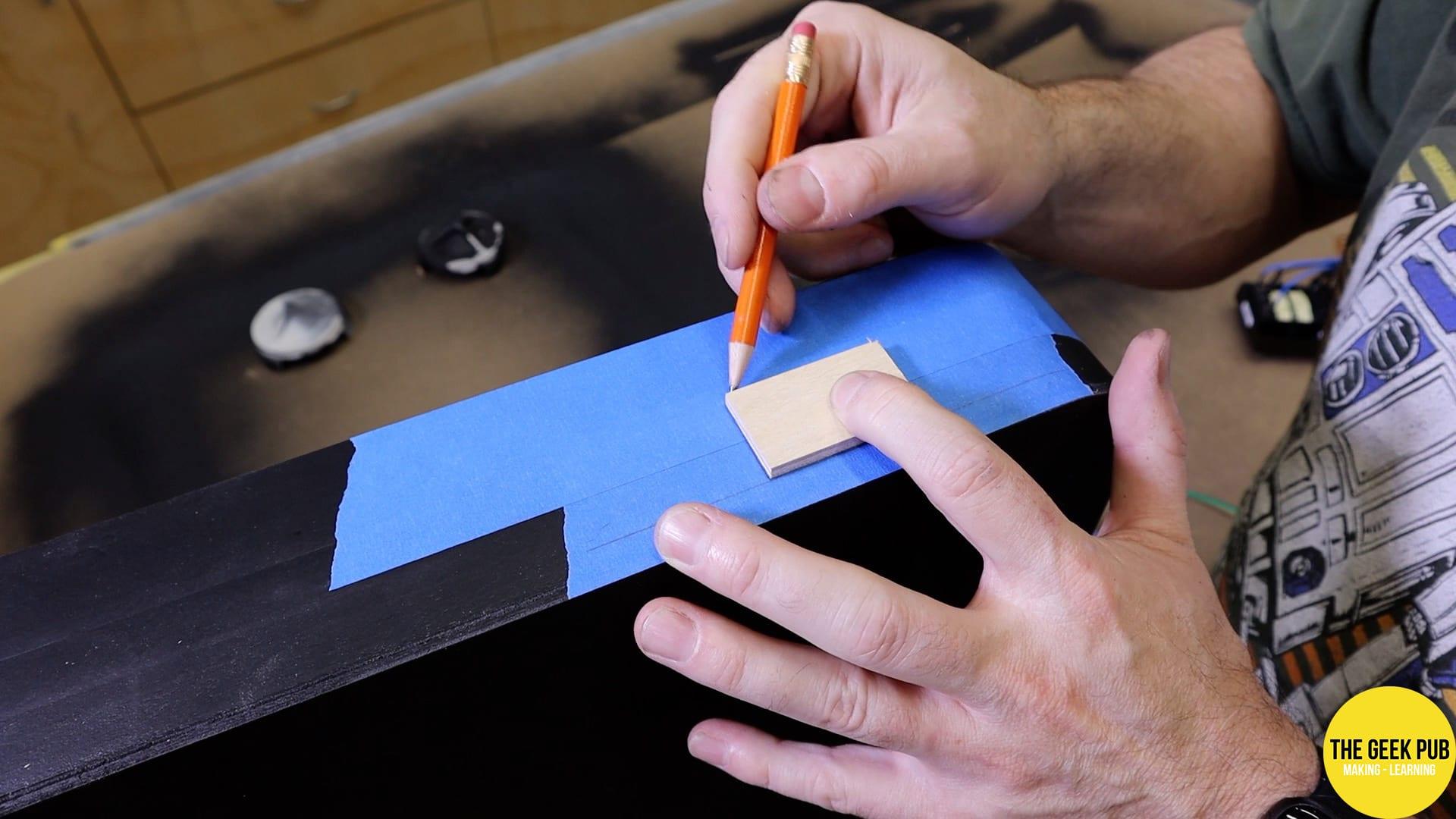 Cutting the IEC-14 hole