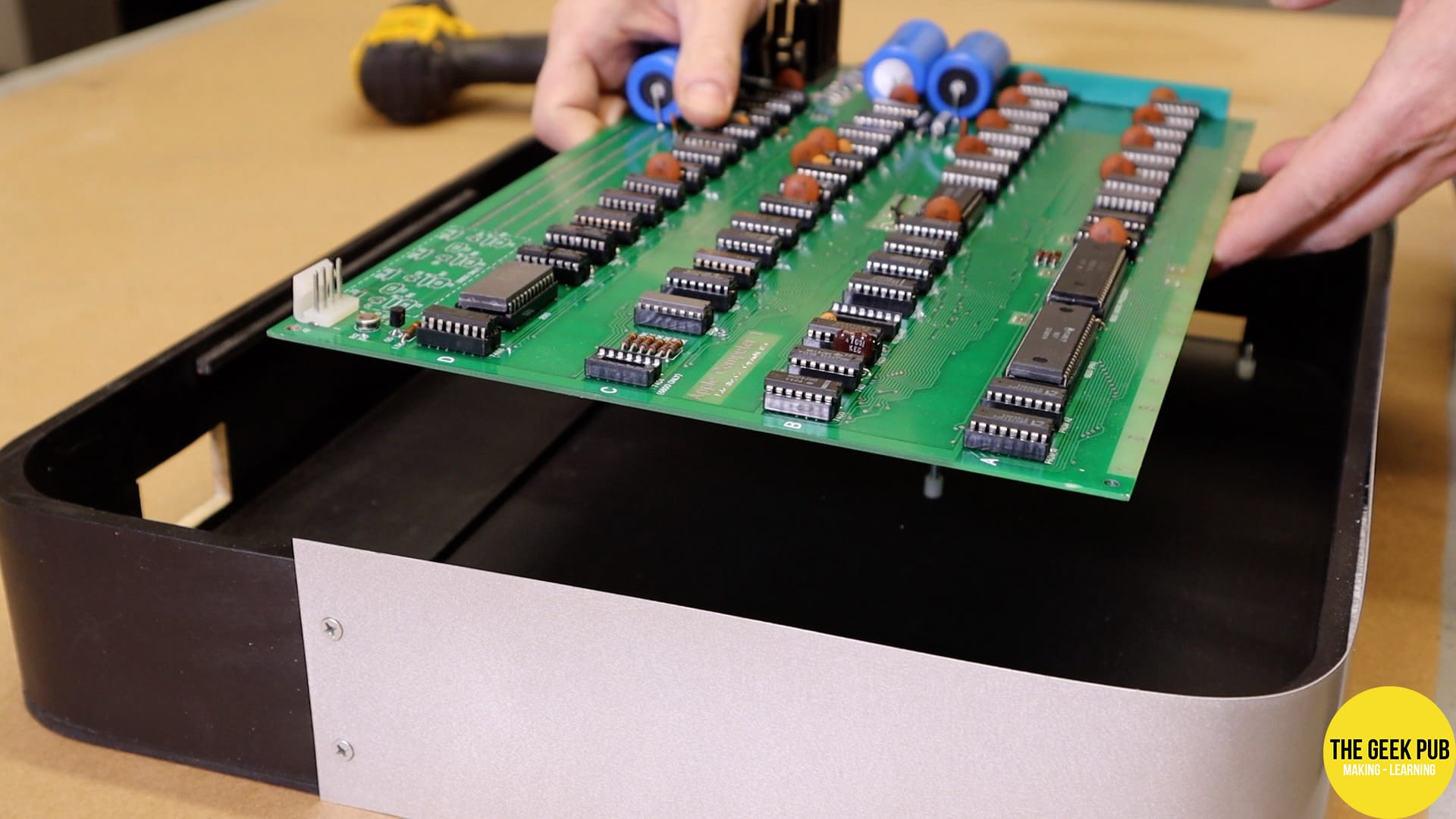 Installing the Apple 1 Board into the case