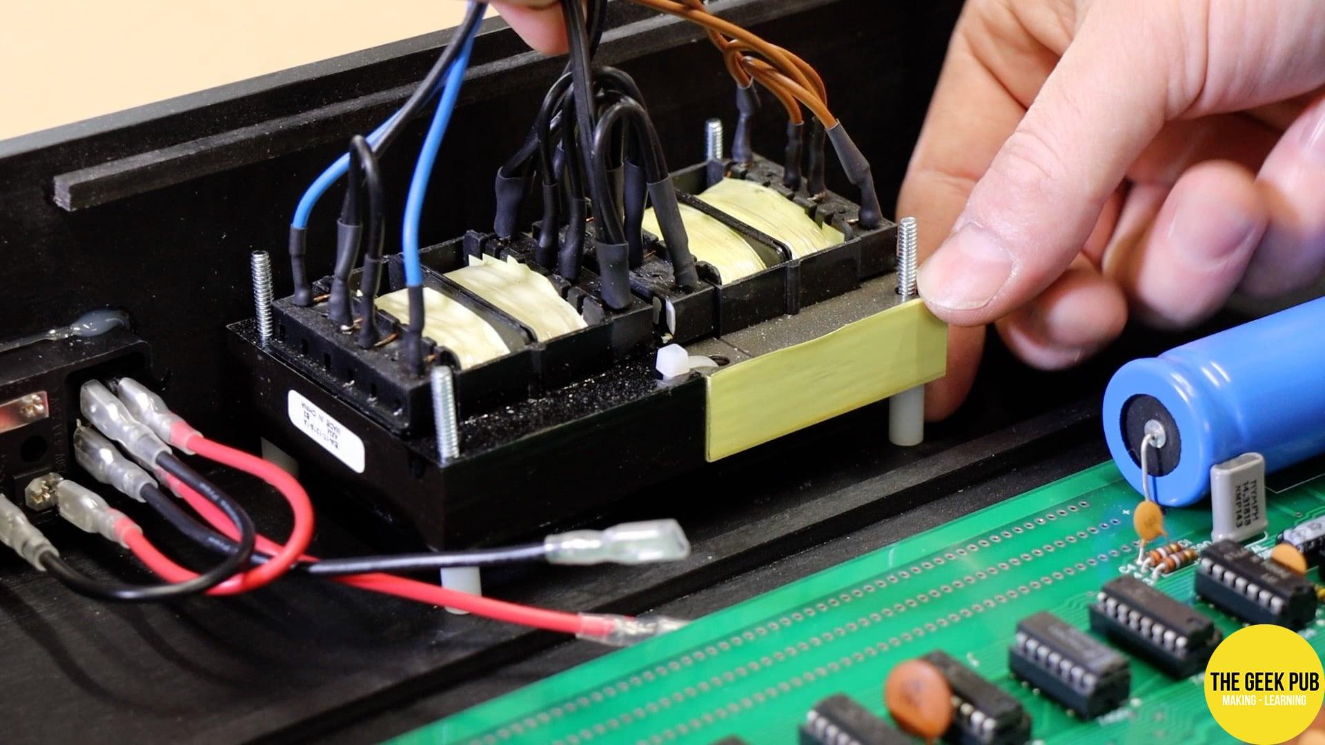 Installing Power supply Transformers