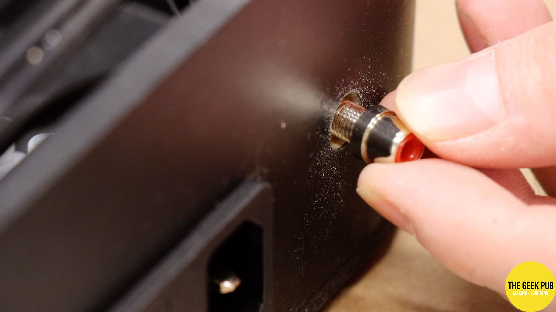 Installing the RCA video output